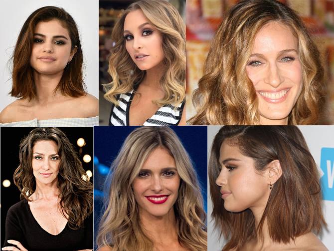 cabelos médios estão em moda nas midias