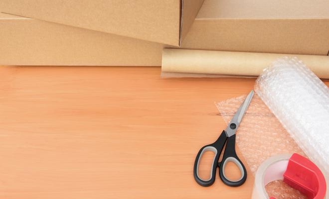 dicas organizar mudança tesoura estilete ferramentas