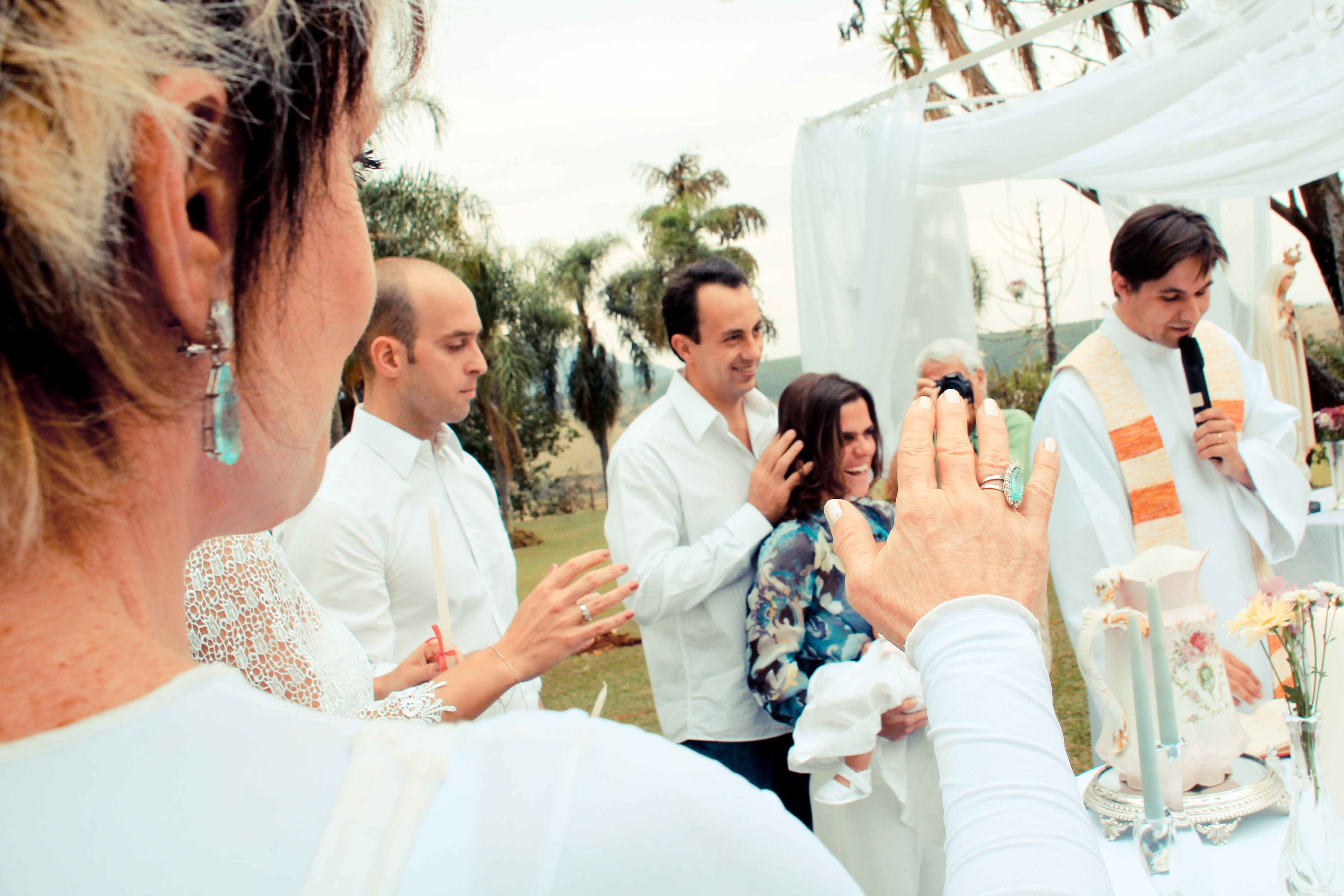 Joana é batizada