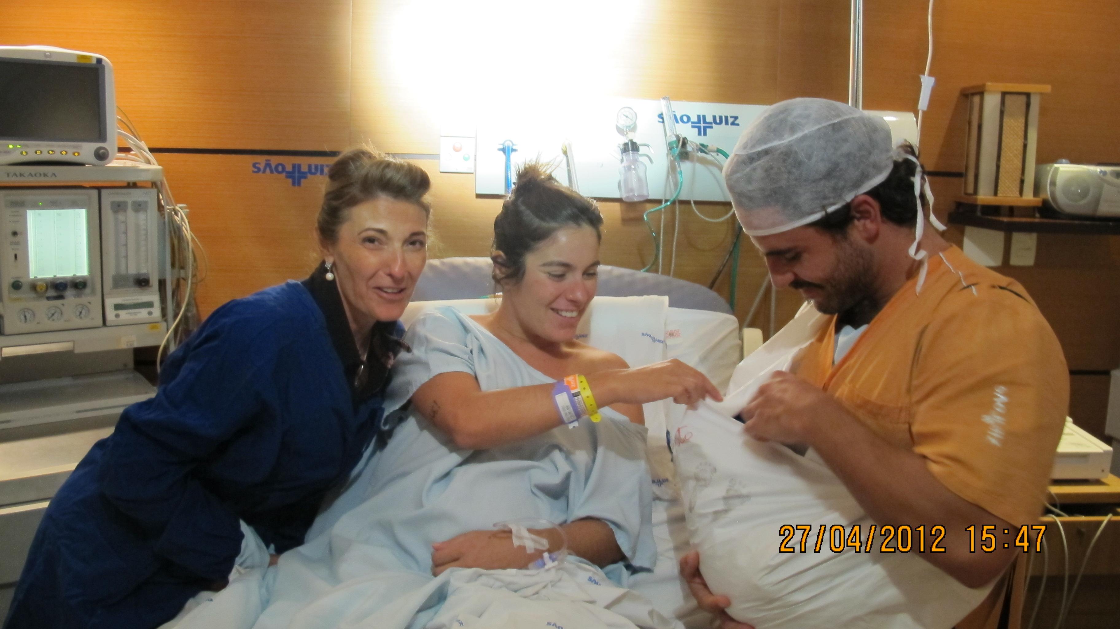 Nasce Bento, segundo neto de Ana Maria, em 2012